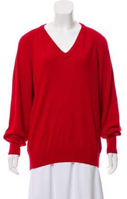 Christian Dior Long Sleeve Knit Sweater