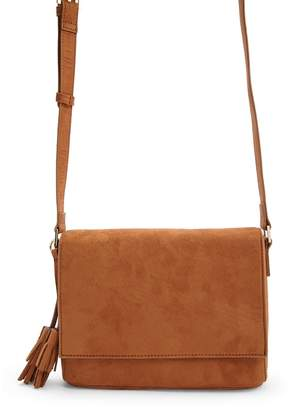 Forever 21 Faux Suede Crossbody