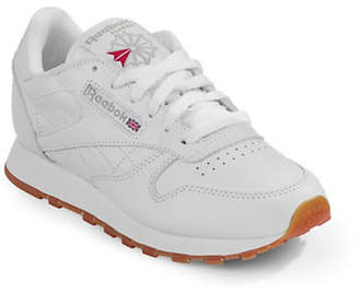 Reebok Womens Classic Leather Sneakers