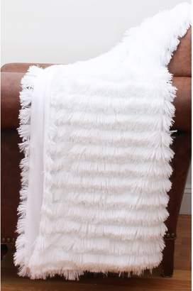 Thro Effie Long Pile Faux Fur Throw
