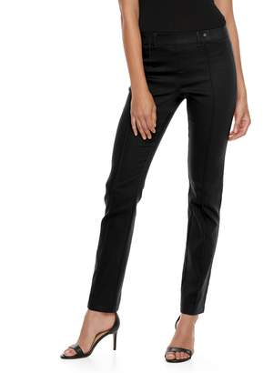 Utopia By Hue Women's Utopia by HUE Pintucked Twill Leggings