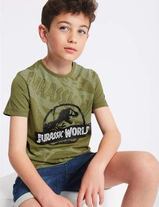 Marks and Spencer Jurassic World T-Shirt (3-16 Years)