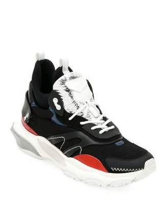 Valentino Men's Bounce Mid-Top Lace-Up Sneakers