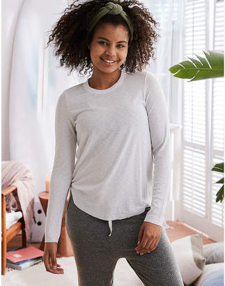 aerie Ribbed Long Sleeve Tee