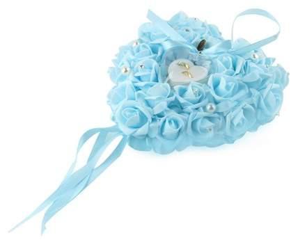 Musics Romantic Rose Wedding Favors Heart Shaped Gift Ring Box Pillow Decoration