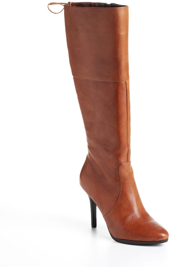 Lauren Ralph Lauren Tall Leather Boots