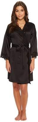 Lauren Ralph Lauren Satin Wrap Robe Women's Robe