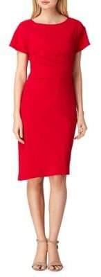 Tahari Arthur S. Levine Petite Crepe Sheath Dress