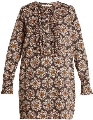 LA DOUBLE J The Tuxedo cotton-blend mini dress