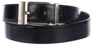 Salvatore Ferragamo Patent Leather Reversible Belt