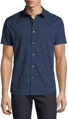 Slate & Stone Men's Floral-Print Short-Sleeve Sport Shirt