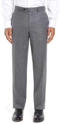 Men's David Donahue 'Ryan' Classic Fit Trousers $275 thestylecure.com