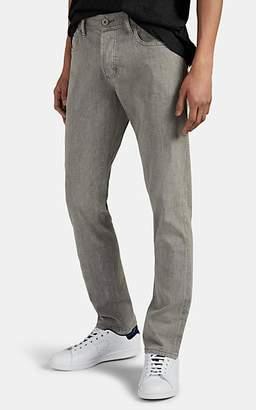 James Perse Men's Cotton-Blend Five-Pocket Trousers - Gray