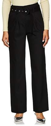 LES COYOTES DE PARIS Women's Rho Belted Slim Trousers - Black