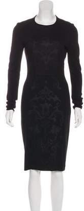 Stella McCartney Midi Bodycon Dress