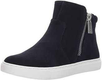 Kenneth Cole New York Women's Kiera High Top Double Zip Suede Fashion Sneaker