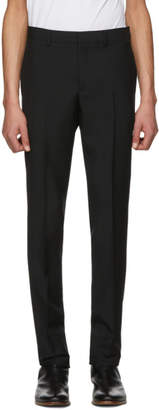 Givenchy Black Wool Slim Trousers