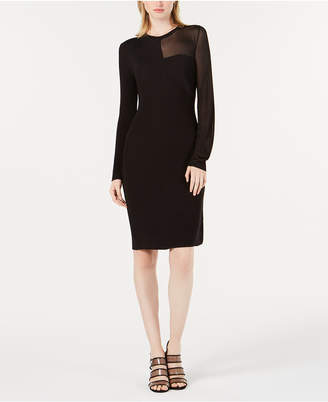Bar III Asymmetrical Cutout Sheath Dress, Created for Macy's