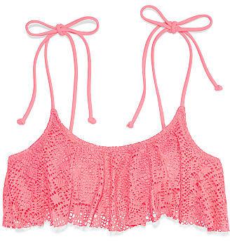 Victoria's Secret PINK Flounce Bandeau Top