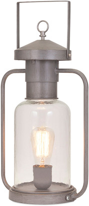 Imax Newport Glass Lantern Table Lamp