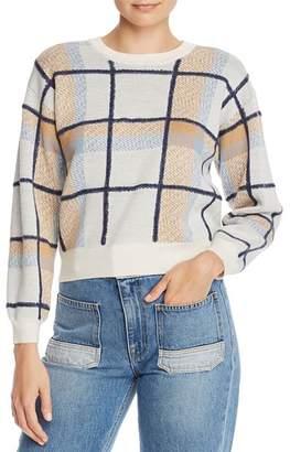 Joie Austine Plaid Sweater