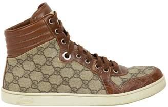 Gucci Crocodile low trainers