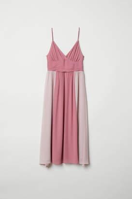 H&M V-neck Dress - Pink