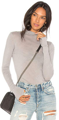 Enza Costa Turtleneck Tee