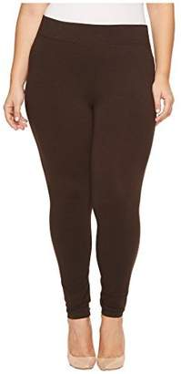Hue Women's Plus Size Ultra Legging with Wide Waistband