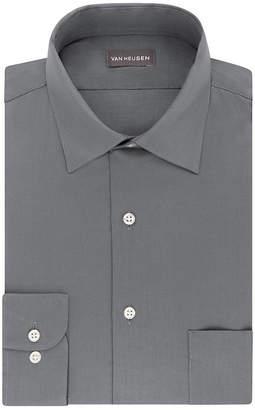Van Heusen Lux Sateen Reg Stretch Long Sleeve Dress Shirt