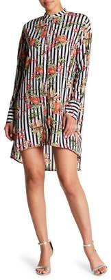 Love + Harmony Button Down Shirt Dress