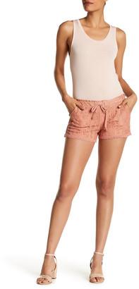 Jolt Drawstring Lace Short (Juniors) $42 thestylecure.com