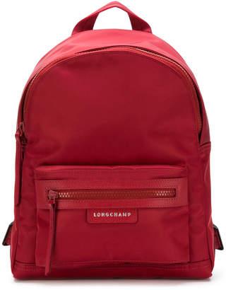 Longchamp zipped backpack