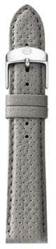 Michele Urban Perforated Leather Strap/16MM