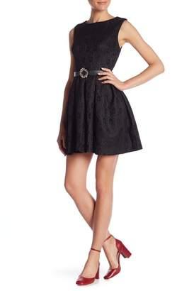 Molly Bracken Lace Fit & Flare Dress