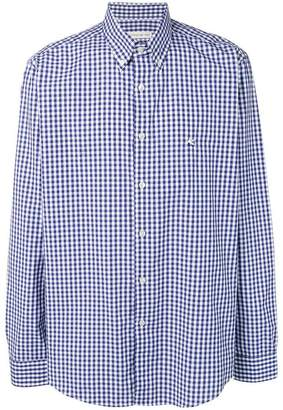 Etro gingham pattern shirt
