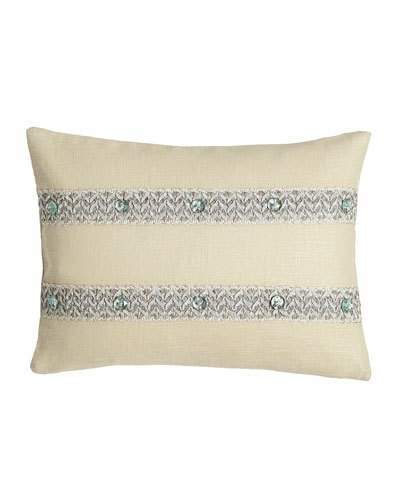Sherry Kline Home Bliss Oblong Pillow, 12