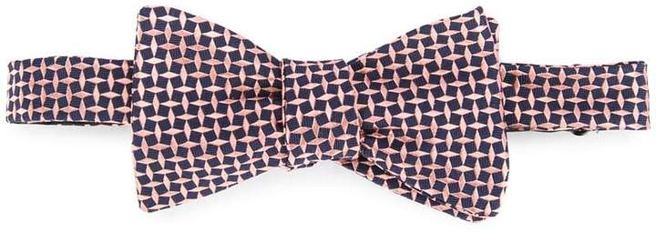 Gieves & Hawkes embroidered bow tie