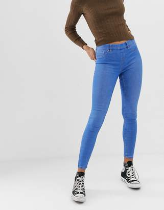 New Look Emilee Bright Blue Jegging