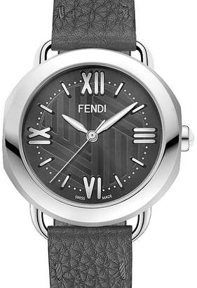 Fendi Stainless Steel Selleria Watch Head, 36mm