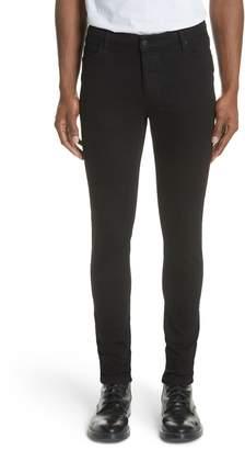 Ksubi Van Winkle Black Rebel Skinny Fit Jeans