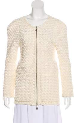 Louis Vuitton Textured Knit Cardigan