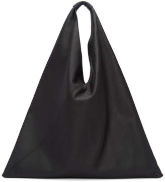 MM6 MAISON MARGIELA Black Regular Leather Tote