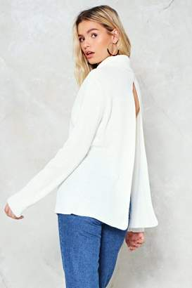 Nasty Gal I'll Get Back to You Turtleneck Sweater