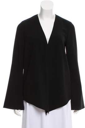 Elizabeth and James Open-Front Asymmetrical Sweater