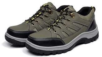 Meigar Men's Steel Toe Safety Shoes Work Sneakers Anti-Slip Hiking Climbing Boots for Working