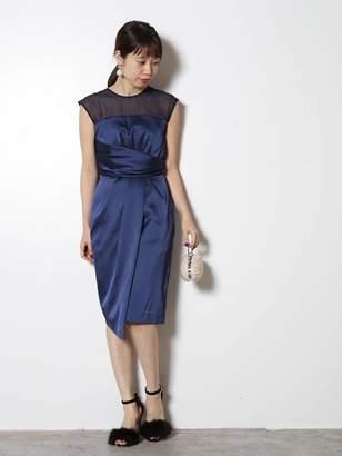 LAGUNAMOON (ラグナムーン) - LADYシアーラップタイトドレス