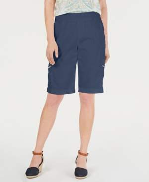 Style&Co. Style & Co Petite Comfort-Waist Bermuda Shorts, Created by Macy's