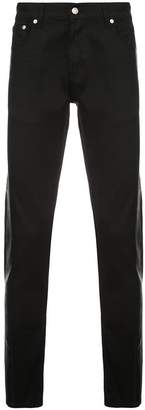 Alexander McQueen long side stripe jeans