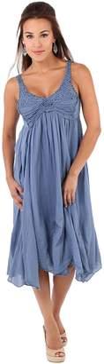 KRISP Crochet Dress (CAN6918-BLK-M)
